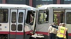 One of many Muni crashes, but not this one