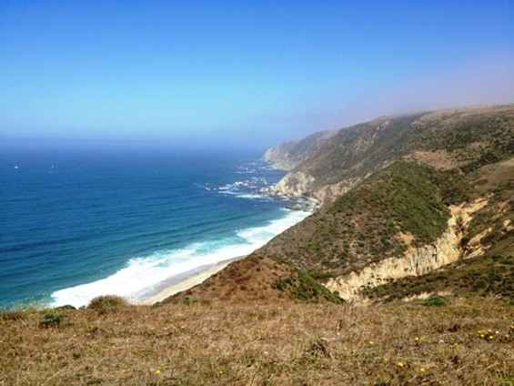 Only 9.2 more miles to Tomales Point.