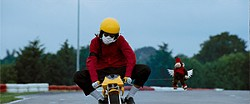 Only one movie evokes mourned innocence in just a three-minute shot of a clown bike.