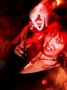 Ouchy the Clown and Dixie De La Tour - JULIA O. TEST