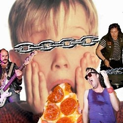 Our local boys are taking on Macaulay Culkin's pizza band.