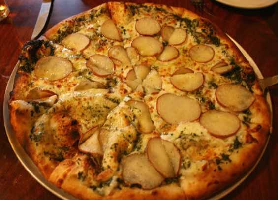 Our pizza. - JANINE KAHN