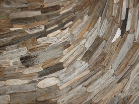 Outerlands' driftwood vortex. - JOHNEFITZGERALD/FLICKR