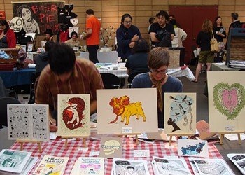 Over the Weekend: SF Zine Fest 09 at the County Fair Building