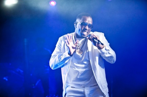 P. Diddy at the Warfield Friday night. - RICHARD HAICK
