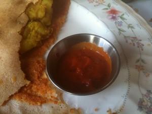 Palate cleanser: Ruchi's mysore masala dosa. - J. BIRDSALL