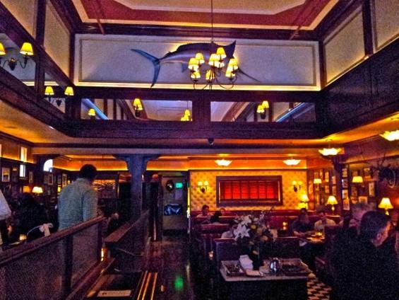 Palmer's Tavern's sultry interior. - PETE KANE