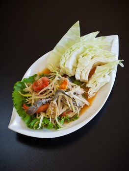 Papaya salad from Lers Ros. - ALANNA HALE