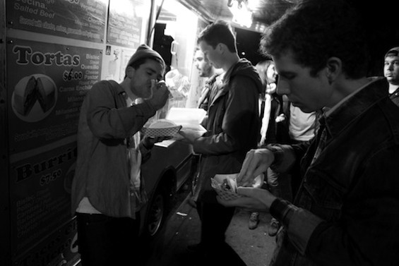 Parquet Courts like tacos, too.
