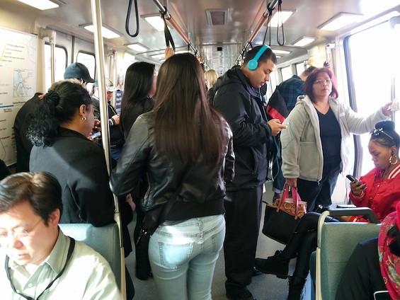 Passengers marooned on BART