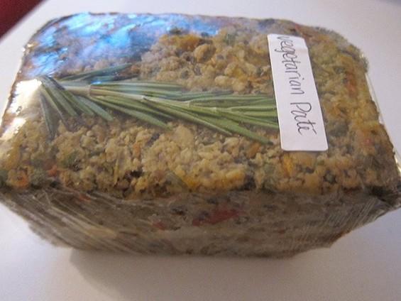 Pasta Gina's vegetarian pâté, $6.95-$12.95. - CARINA OST