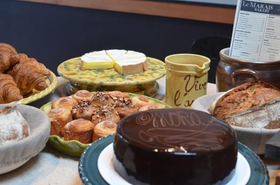 Pastries & treats at the Le Marais counter - LE MARAIS BAKERY