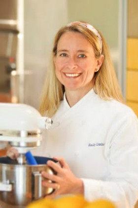 EXECUTIVE PASTRY CHEF AND COOKBOOK AUTHOR EMILY LUCHETTI.