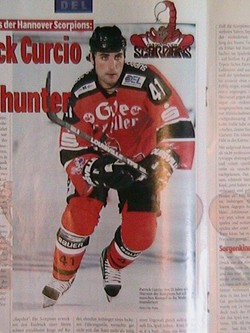 Pat Curcio during his playing days in Germany