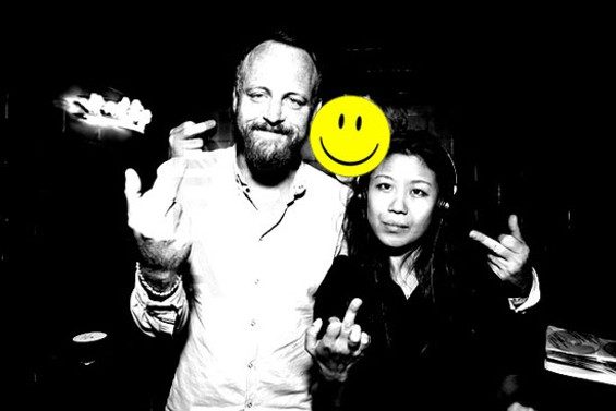 Pat Mahoney and Nancy Whang play FACE, on Friday, at Public Works