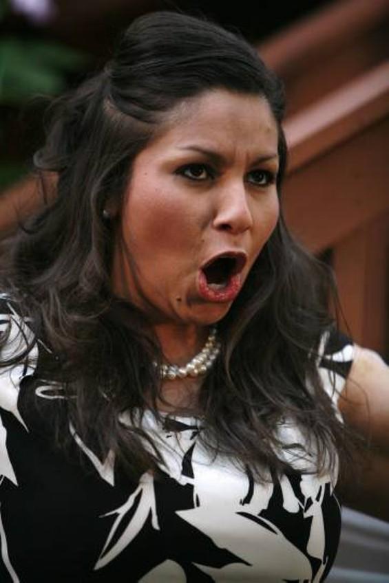 Patricia Urbano as Donna Elvira - BETSY KERSHNER