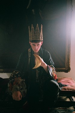 Patrick Wolf began the year in S.F.