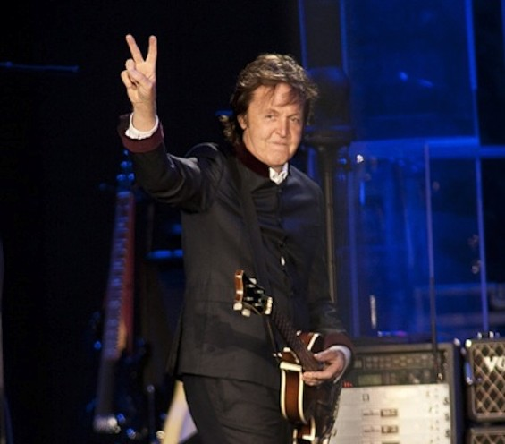 Paul McCartney at his last show in S.F., July 10, 2010 - CHRISTOPHER VICTORIO