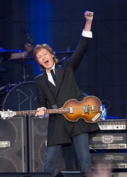 CHRISTOPHER VICTORIO - Paul McCartney at Outside Lands.