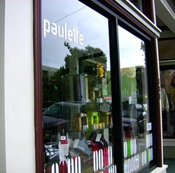 Paulette's Hayes Valley outpost opened in 2009. - TREVOR ADAMS