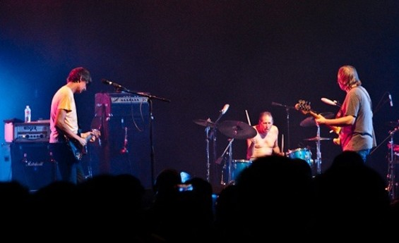 Pavement with original drummer Gary Young - GRETCHEN ROBINETTE