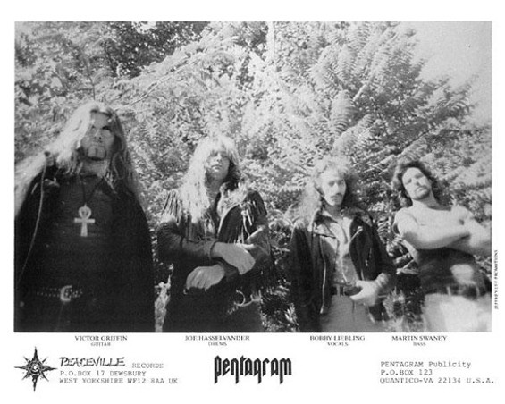 Pentagram: the classic lineup.