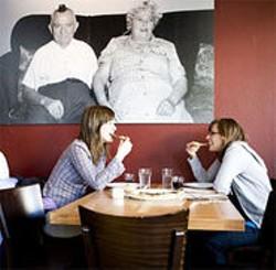 JEN SISKA - People who enjoy Italian food, past and present.