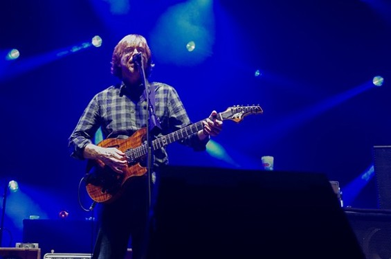 Phish at Bill Graham Civic Auditorium on Friday. All photos by Gil Riego for SF Weekly. - GIL RIEGO