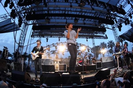 Phoenix at Coachella 2010. - CHRISTOPHER VICTORIO