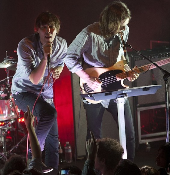 Phoenix at the Independent last night. - CHRISTOPHER VICTORIO