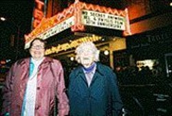 JANE  CLELAND - Phyllis Lyon and Del Martin celebrate their 50th - anniversary.