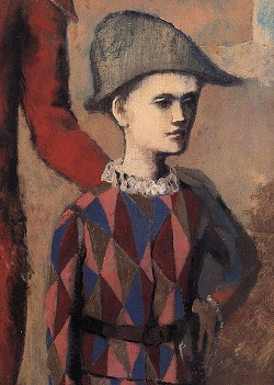 Picasso, unlike Michela Alioto-Pier, thinks that a child can indeed be a 'harlequin object' - PABLO PICASSO