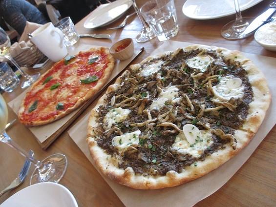 Piccino's Excellent Funghi Pizza - TREVOR FELCH