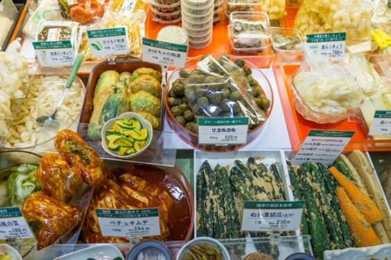 Pickles at Takashimaya - classic depachika display - PHOTO COURTESY OF MATTHEW AMSTER-BURTON