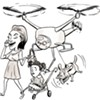 Pie in the Sky: UC Berkeley Works on Drones That Won't Spy on and/or Kill You