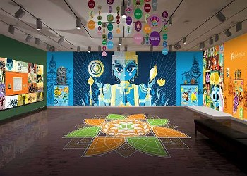 Pixar Animator Sanjay Patel Sees Himself in Maharajas He Made for the Asian Art Museum