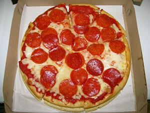 Pizza is delicious, crime is not - FLICKR/RYAN STANTON