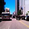 Bomb Scare Closes Civic Center Streets
