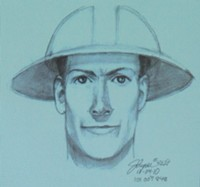 Police released this suspect sketch almost simultaneously with Gary Scott Holland's arrest
