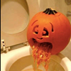 Police Use Puking Pumpkin to Warn Drivers About Drinking and Driving on Halloween