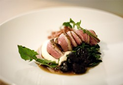 JEN SISKA - Precious flavors await: The roast breast of Muscovy duck.