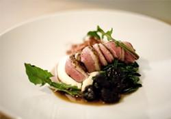 JEN SISKA - Precious flavors await: The roast breast of Muscovy duck.