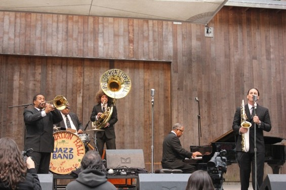 Preservation Hall Jazz Band at Stern Grove on Sunday.