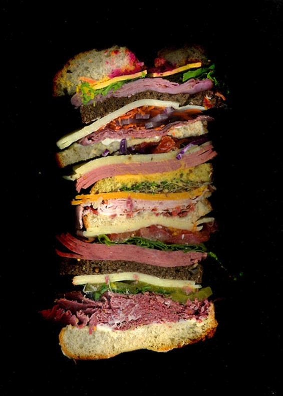 Prettier than the rose window at Chartres. Tastier, too. - SCANWICHES