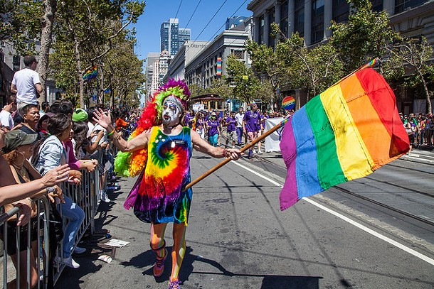 Pride only comes once a year. - FLICKR/MATTHEWALMONROTH