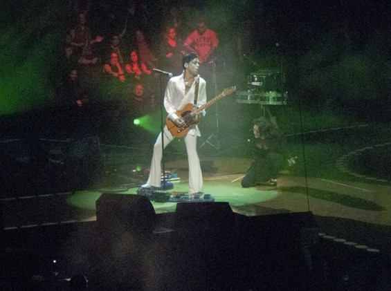 Prince in Oakland