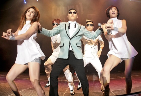 "Psy going ""Gagnam Style"" in the Bay - CHRISTOPHER VICTORIO"