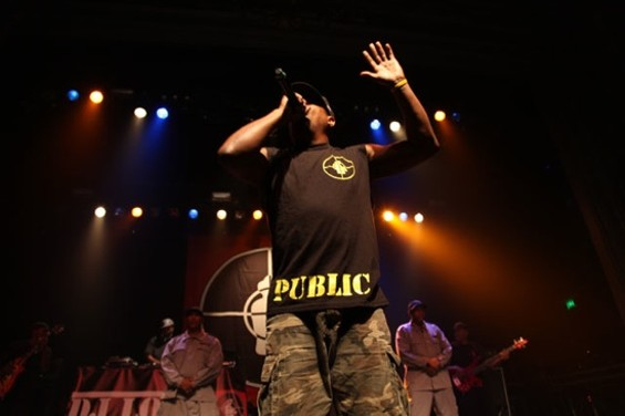 Public Enemy at the Regency Ballroom Friday.