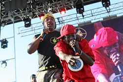 CHRISTOPHER VICTORIO - Public Enemy rocked Treasure Island.