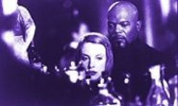 ELI  REED - Pure, Swaggering, Testosterone-Soaked Escapism: Toni Collette and Samuel L. Jackson  in Shaft.